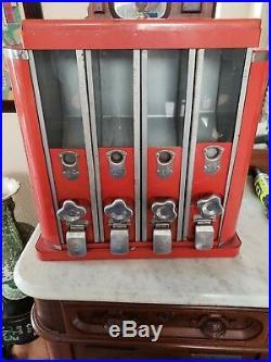 Antique Vintage 1 cent Candy Vending Machine