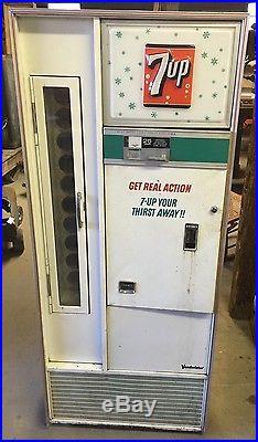 Antique/Vintage 7up Machine Coke Coca Cola Pepsi TESTED & WORKS