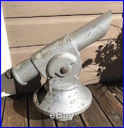 Antique Vintage Aluminum Coin Operated Telescope Viewer Monterey California