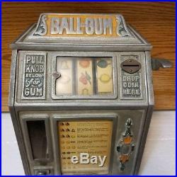 Antique Vintage Groetchen Ball-Gum Gum Ball Machine G118 Working RARE With Key
