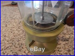 Antique/Vintage Gumball/Peanut Machine Columbus Model 14 1Cent Slug Rejector