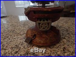Antique/Vintage Gumball/Peanut Machine Columbus Model 18 1Cent