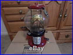 Antique/Vintage Gumball/Peanut Machine Columbus Pistachio 1 Cent