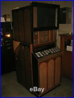 Antique Vintage Scopitone Coin-op Movie Projecting Machine