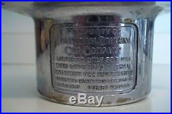 Antique Vtg Individual Drinking Cup Company Dixie Cup Dispenser Pat. 1915