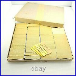 Box of 1000+ STARS FORTUNE Cards Slips Vending Machine VTG Teller Paper Cookie