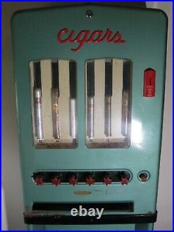 CIGAROMAT 6-Selection Cigar Lobby Vending Machine Vintage UNRESTORED 1950s