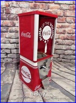 COCA COLA vintage gumball machine M&M dispenser coke memorabilia Christmas gift