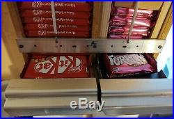 Cadbury Turkish Delight Kit Kat Retro Vending Machine Vintage Chocolate Man cave