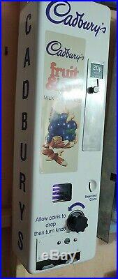 Cadburys Fruit & Nut Retro Vending Machine Vintage Chocolate Dairy Milk