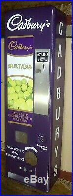 Cadburys Sultana Retro Vending Machine Vintage Chocolate Wall Type Dairy Milk