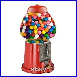 Candy Dispenser Vending Machine Stand Bubble Gum Gumball Bank Kids Vintage Food