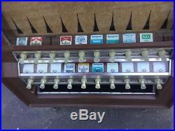 Cigarette vending machine vintage