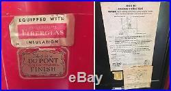 Coca Cola 1950s Vendo 44 Original Vintage Soda Vending Machine Works Unrestored
