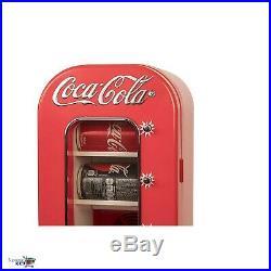 Coca Cola Can Vending Machine Retro Soda Vintage Cooler Mini Fridge 10 Cans Bar
