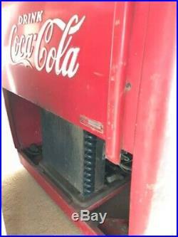 Coca Cola Chest Vending Machine Rare 40-50s vintage