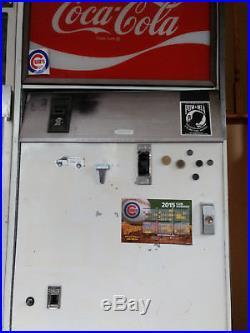 Coca Cola Coke machine, vintage, vending, memorabilia, antique, refrigerator