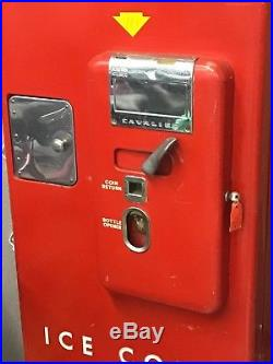 Coca Cola Machine 1955 H 110 50's Soda Vintage Coke Old