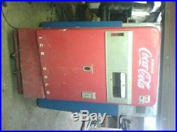 Coca Cola Machine Vendo 83 Drink Coke Bottle Dispensing 1950s Vintage 10 cent