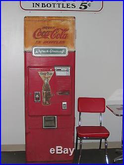 Coca-Cola Machine Westinghouse Coke 1950's Retro Vintage Antique Soda Vending