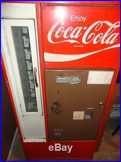 Coca Cola Soda Vintage Original Soda Bottle Vending Machine Vendo 56 or Cavalier
