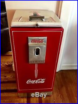 Coca Cola vintage refrigerator- restored beautifully Cavalier 2 case office cool