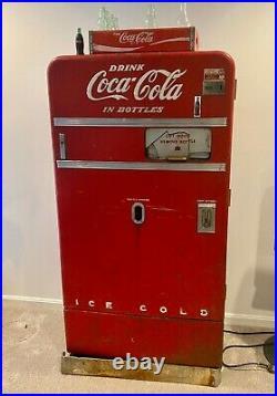 Coca Cola vintage vending machine-unrestored