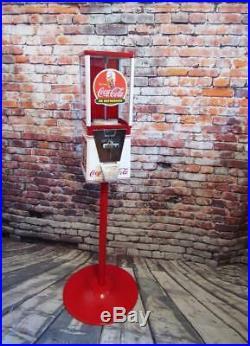 Coca cola Coke vintage gumball nut candy machine game room coke memorabilia gift