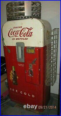 Coca cola coke vintage vending machine vendo v-39