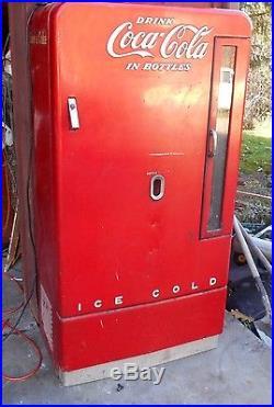Coca-cola machine vintage
