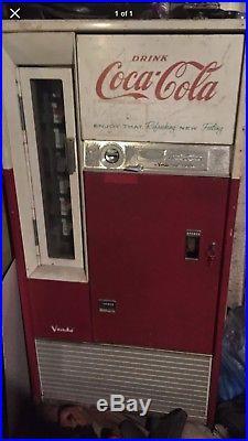 Coca cola machine vintage Coin-Op Soda Staten Island pick up