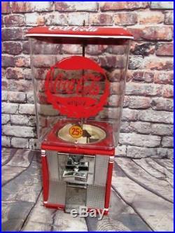 Coca cola vintage gumball machine candy machine Coke memorabilia novelty