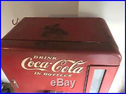 Coka Cola Machine Vintage Collectible Vendo Model H1100