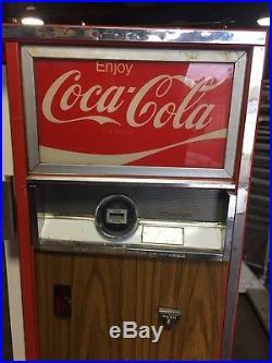 Coke Coca Cola Cavalier Bottle Vending Machine Vintage Movie Prop