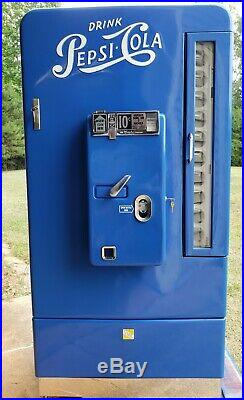 Coke Machine Restored Vintage Pepsi VMC Vendo 110 by Soda City Restorations