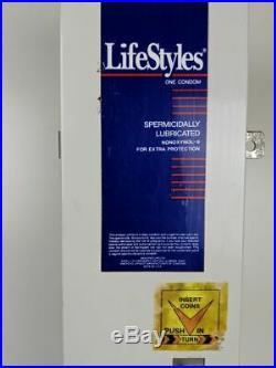 Condom Dispenser Man Cave Vintage LifeStyles Condom Vending Machine