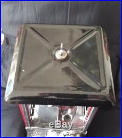 ESTATE SALE Vintage Beautiful 1923 Master Gumball Machine with Key Works Great
