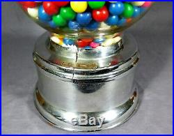 FORD GUMBALL MACHINE 1950's Original + Vintage WORKING CONDITION