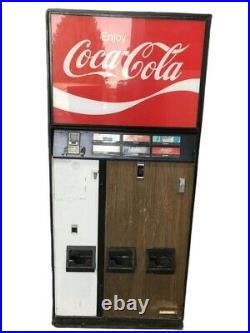 FREE SHIPPING Vintage coca-cola vending machine By Cavalier Corporation