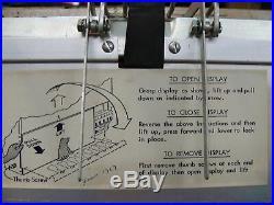 GOOD WORKING Antique/Vintage NATIONAL VENDORS Model CM-72 Candy VENDING MACHINE