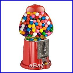 Great Northern 15-Inch Vintage Candy Gumball Machine and Bank with Stand, Eve