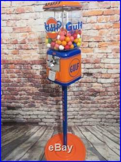 Gulf gas vintage Acorn gumball machine candy machine bar man cave accessories