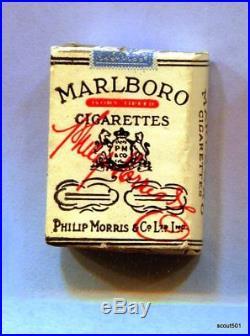 Lot 13 Miniature Vintage Charms Eppy Cigarette Packs Egypt Philp Morris