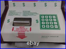 Lotto Luck Vintage Coin Op Lucky Numbers Machine Quarter Machine