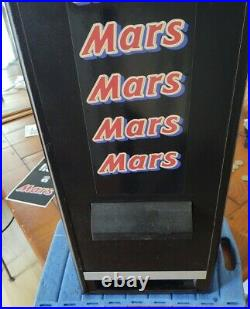 Mars Bar Vending Machine Chocolate Wall Type Vintage Retro Mancave Home Bar Den