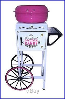 NEW Nostalgia Electrics CCM510 Vintage Collection Cotton Candy Cart Carnival