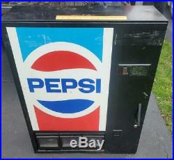 NICE Vintage Pepsi Vending Machine Cooler Counter or Wall Mount Can Soda Pop