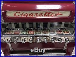 National cigarette machine 1950 great condition. Coke, jukebox, vintage