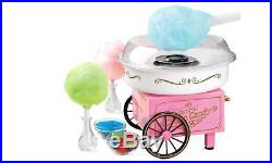 Nostalgia Cotton Candy Maker Machine Vintage Collection Hard Sugar free