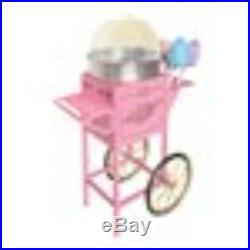 Nostalgia Electrics 50 Tall Vintage Collection Commercial Cotton Candy Cart, C